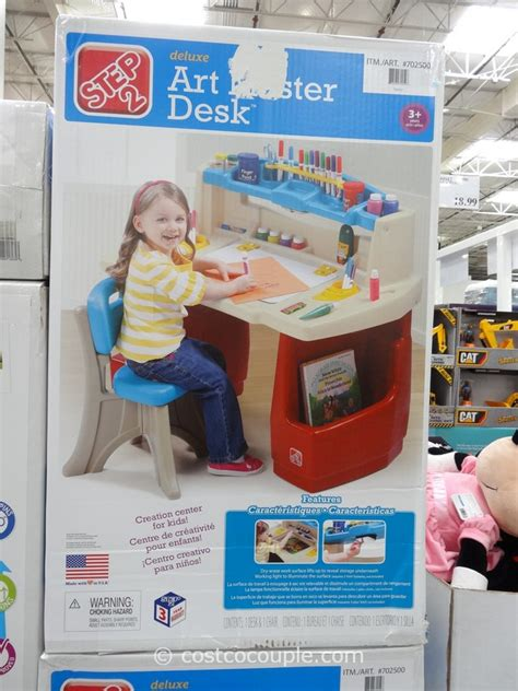 step2 deluxe art master desk with chair the step2 company deluxe art master desk