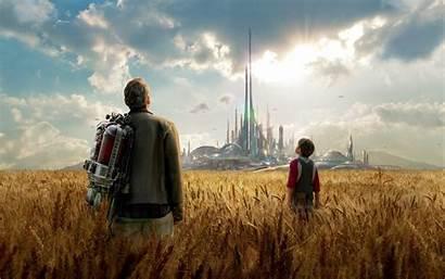 Tomorrowland Wallpapers Movies 4k Desktop Children Clooney
