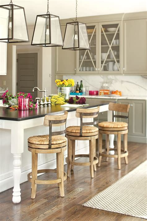 counter height kitchen island table 15 favorite kitchen counter stools for 2016 ward log homes