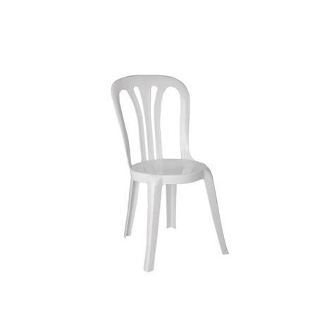 chaise en plastique chaise blanche matière plastique