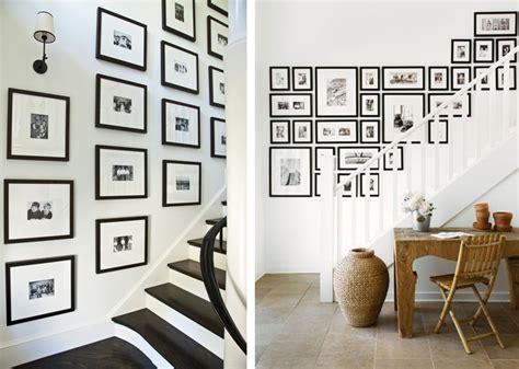 design d escalier scandinave affiches encadr 233 es pour r 233 aliser un mur de cadres dans un
