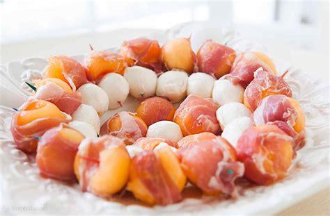 cuisine provencal prosciutto melon and mozzarella recipe simplyrecipes com