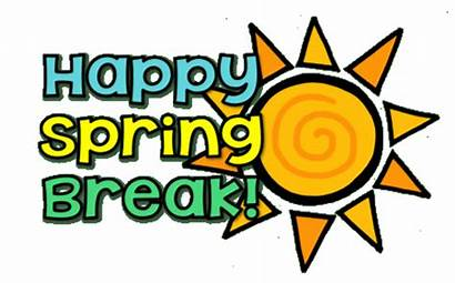 Break Spring Clipart Countdown Clip Happy Wood