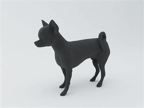 3d model chihuahua 3d model 3d model 3d printable stl