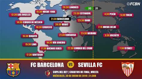 FC Barcelona vs Sevilla en TV: Cuándo y dónde ver el ...