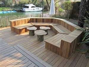 beautiful fabriquer salon de jardin bois gallery design With fabriquer son salon de jardin en bois