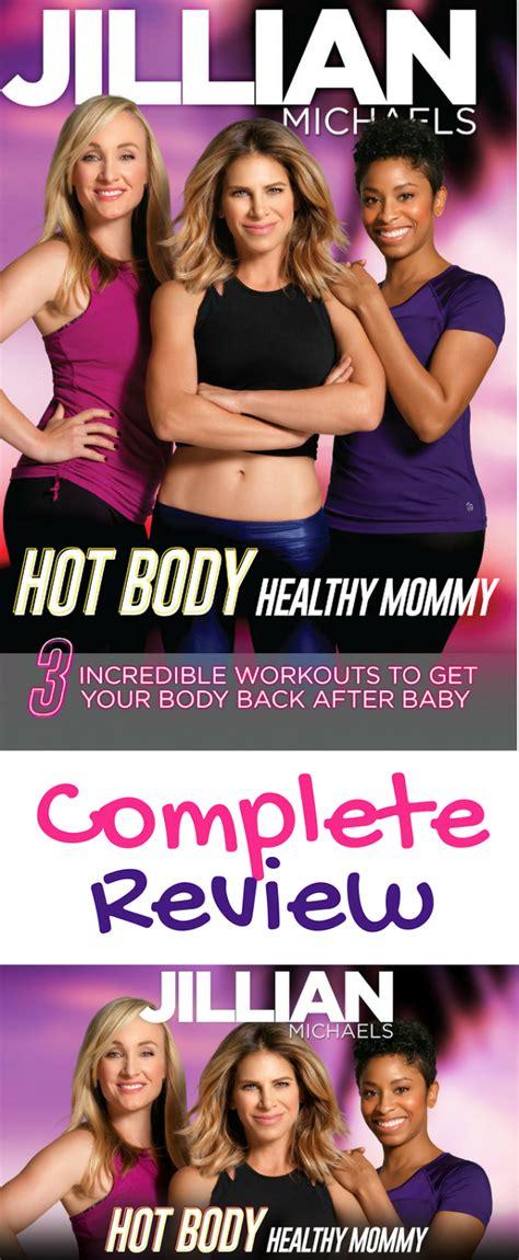 Fitviews Full Review Jillian Michaels Hot Body, Healthy