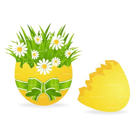 Free Easter Clip Easter Flowers Clip Cliparts