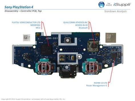 Ps4 Controller Diagram by Cost Of Building A Ps4