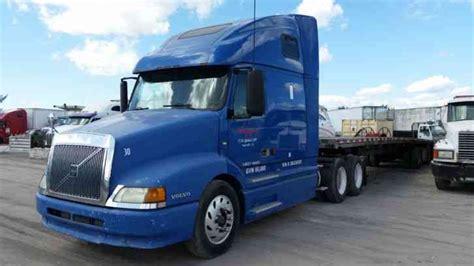commercial volvo trucks for volvo vnl 2003 sleeper semi trucks