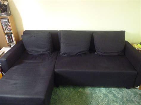 Ikea Lugnvik Sofa Bed (black)