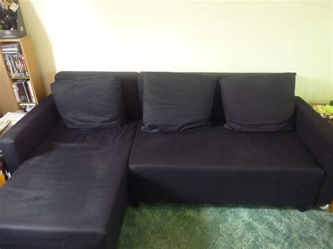 ikea lugnvik sofa bed black  hatfield hertfordshire