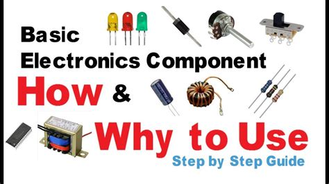 Basic Electronic Components How Why Use