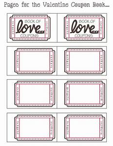 mommy by day crafter by night free printable valentine With coupon book template for husband