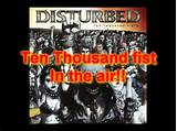 Disturbed 10,000 fists in the air