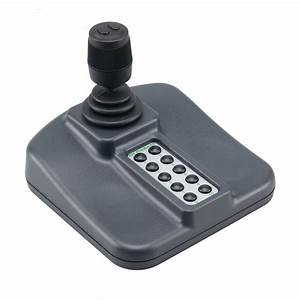 CH Products USB PTZ Joystick Controller Keyboard: 3-Axis ...