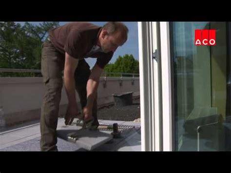 tür für garage einbauvideos aco hochbau