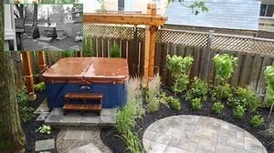 Spa Bois Exterieur : spa ext rieur recouvert d une pergola de bois plani paysage ~ Premium-room.com Idées de Décoration