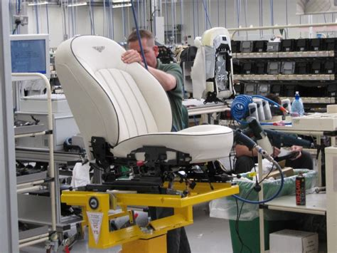 image bentley works crewe final seat assembly