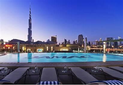 Hotel Dubai Damac Maison Hotels Tourism Pool