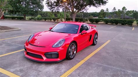 guards red porsche picked up my guards red gt4 last night rennlist