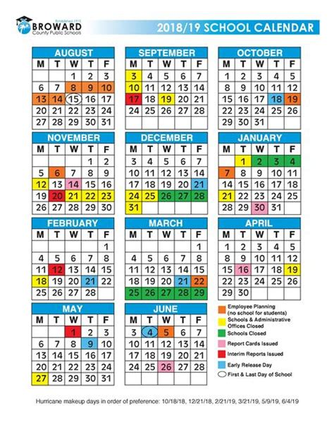 broward school calendar images jpg