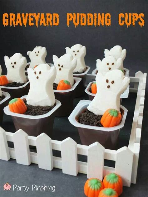 classroom crafts amp treats plain amp simple 371 | graveyard pudding cups