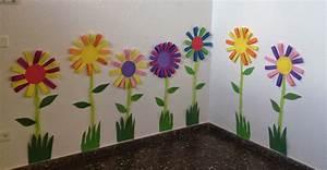 Blumen Basteln Fensterdeko : klassenkunst sommerliche blumen fr hling pinterest blumen fr hling und kindergarten ~ Markanthonyermac.com Haus und Dekorationen