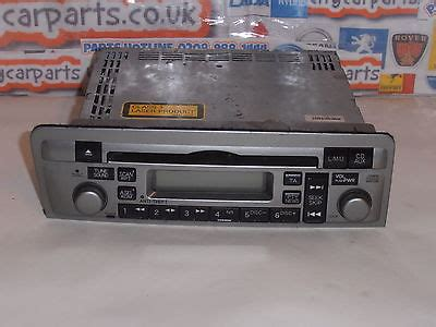 Honda Civic Models From 2001 To 2005 Radio Cd Player Unit