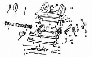 Base Parts Diagram  U0026 Parts List For Model 8802avz Eureka