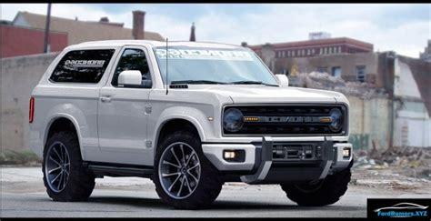 Luxury Spy Photos Ford Bronco