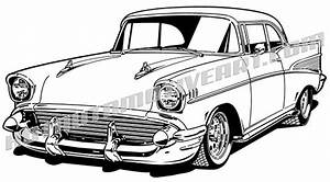 car clipart 57 chevy pencil and in color car clipart 57 With 1956 chevy bel air
