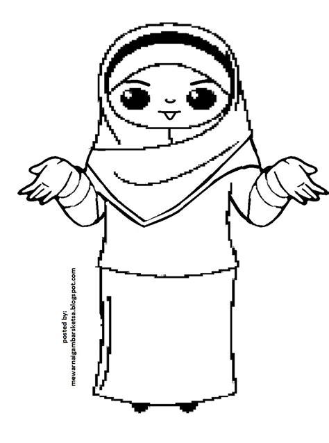 Dapatkan karakter kartun muslimah disini, insya allah update setiap hari. 20+ Inspirasi Sketsa Gambar Kartun Anak Muslimah - Tea And Lead