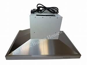 Stainless Steel 30 U0026quot  Kitchen Fan Oven Range Hoods Island Stove Ventilation System