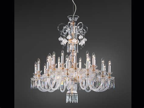 swarovski chandelier superb gold swarovski