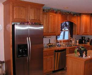 Custom Kitchen - Red Oak - KC Wood