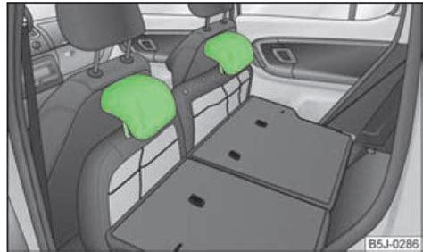 siege arriere c3 skoda fabia rabattement et dépose des assises de sièges