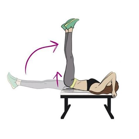 Chair Leg Raise At Home by 17 Best Ideas About Leg Lifts On Toning