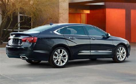 chevy impala ss ltz  redesign specs