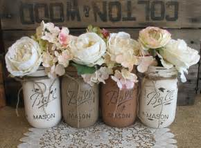 bulk burlap sale set of 4 pint jars jars painted