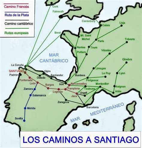 el camino de santiago histogeomapas el camino de santiago