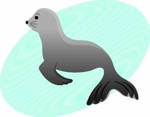 Cute Sea Lion Clipart   www.pixshark.com - Images ...