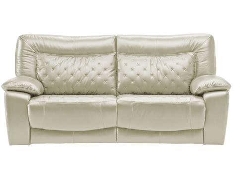 canapé relax 2 places conforama canapé fixe relaxation électrique 2 places en cuir treviso