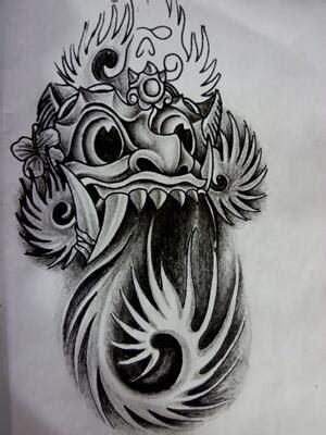 popular barong tattoo designs