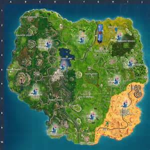 fortnite birthday cake birthday cake locations and map challenge in