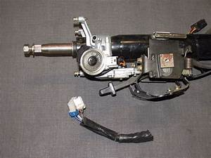 91 92 93 Dodge Stealth Sohc Oem Steering Column With Key