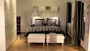 Chambre 9m2 Ikea : idee amenagement petite chambre adulte ~ Melissatoandfro.com Idées de Décoration