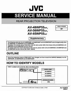 Jvc Av 48wp55 Av 56wp55 Av 65wp55 Tv Wiring Diagrams