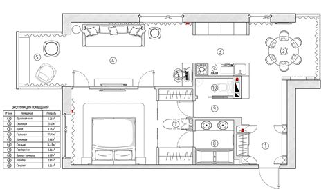 Designing A Floor Plan by Contemporary Apartment Design With Classical Features