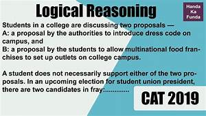 Cat 2019 - Logical Reasoning - Venn Diagram